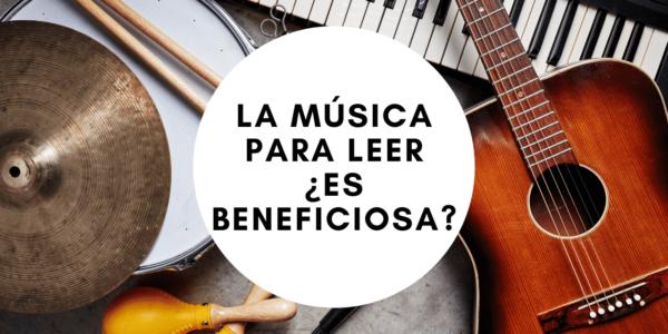 La música para leer ¿es beneficiosa?
